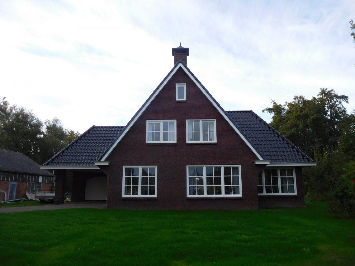 Landhuis met garage